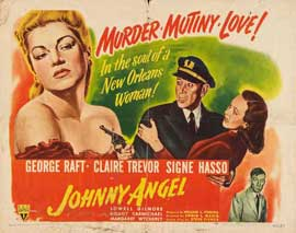 Johnny Angel - 22 x 28 Movie Poster - Half Sheet Style A