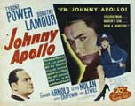 Johnny Apollo - 11 x 14 Movie Poster - Style A