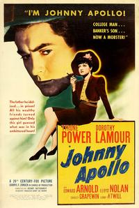 Johnny Apollo - 27 x 40 Movie Poster - Style A