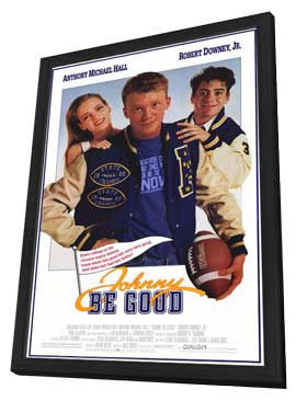 Johnny Be Good - 11 x 17 Movie Poster - Style A - in Deluxe Wood Frame