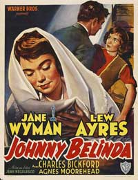 Johnny Belinda - 27 x 40 Movie Poster - Belgian Style A