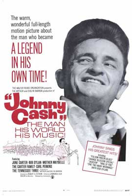 Johnny Cash - 27 x 40 Movie Poster - Style A
