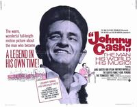 Johnny Cash - 22 x 28 Movie Poster - Half Sheet Style A