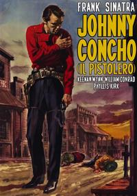 Johnny Concho - 27 x 40 Movie Poster - Foreign - Style A