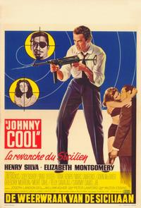 Johnny Cool - 11 x 17 Movie Poster - Belgian Style A