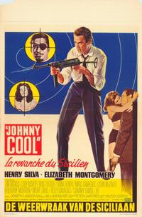 Johnny Cool - 27 x 40 Movie Poster - Belgian Style A