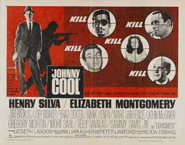Johnny Cool - 22 x 28 Movie Poster - Half Sheet Style A