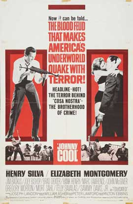 Johnny Cool - 27 x 40 Movie Poster - Style A