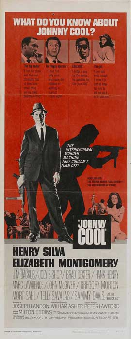 Johnny Cool - 14 x 36 Movie Poster - Insert Style A