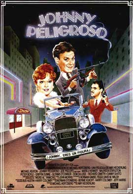 Johnny Dangerously - 27 x 40 Movie Poster - Spanish Style A