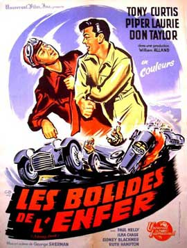 Johnny Dark - 11 x 17 Movie Poster - French Style A