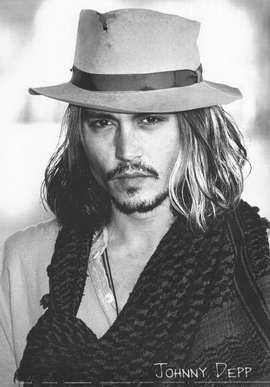 Johnny Depp - 11 x 17 Movie Poster - Style B