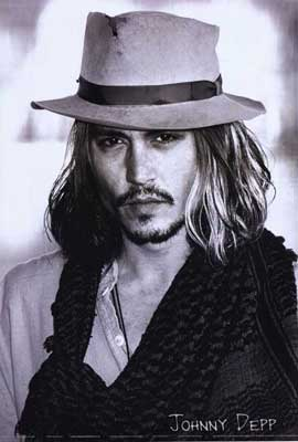 Johnny Depp - 27 x 40 Movie Poster - Style B