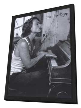 Johnny Depp - 11 x 17 Movie Poster - Style A - in Deluxe Wood Frame