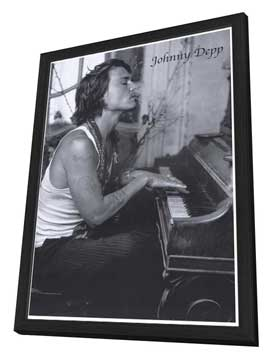 Johnny Depp - 27 x 40 Movie Poster - Style A - in Deluxe Wood Frame