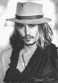 Johnny Depp - 11 x 17 Movie Poster - Style B - Museum Wrapped Canvas