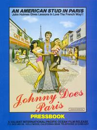 Johnny Does Paris - 11 x 17 Movie Poster - Style A
