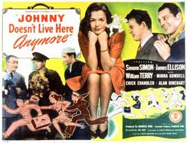 Johnny Doesn't Live Here Any More - 11 x 14 Movie Poster - Style A