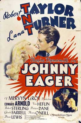 Johnny Eager - 27 x 40 Movie Poster - Style B