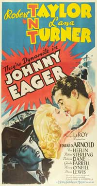 Johnny Eager - 20 x 40 Movie Poster - Style A