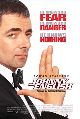 Johnny English - 43 x 62 Movie Poster - Bus Shelter Style A