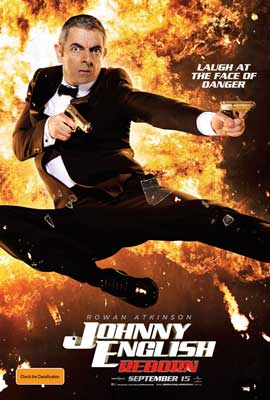 Johnny English Reborn - 11 x 17 Movie Poster - Australian Style A