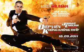 Johnny English Reborn - 27 x 40 Movie Poster - Vietnamese Style A