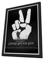 Johnny Got His Gun - 11 x 17 Movie Poster - Style B - in Deluxe Wood Frame
