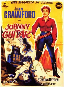 Johnny Guitar - 11 x 17 Movie Poster - Spanish Style A