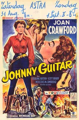 Johnny Guitar - 11 x 17 Movie Poster - Belgian Style A