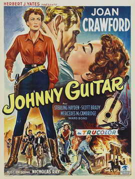 Johnny Guitar - 27 x 40 Movie Poster - Belgian Style A