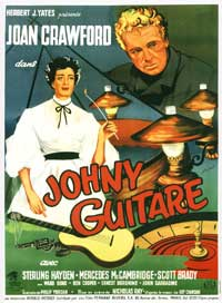 Johnny Guitar - 11 x 17 Movie Poster - French Style A
