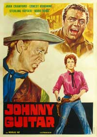 Johnny Guitar - 11 x 17 Movie Poster - Italian Style A