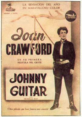 Johnny Guitar - 11 x 17 Movie Poster - Spanish Style B