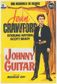 Johnny Guitar - 11 x 17 Movie Poster - Spanish Style C