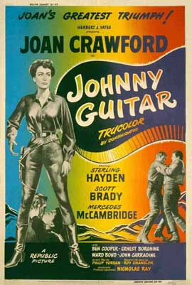 Johnny Guitar - 11 x 17 Movie Poster - Style E