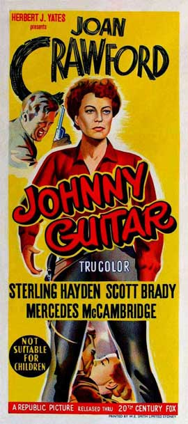 Johnny Guitar - 11 x 17 Movie Poster - Australian Style A