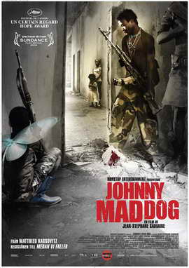 Johnny Mad Dog - 27 x 40 Movie Poster - Swedish Style A