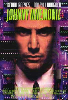 Johnny Mnemonic - 11 x 17 Movie Poster - Style B