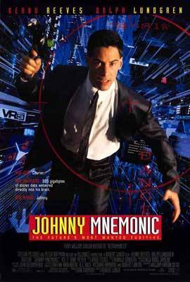 Johnny Mnemonic - 27 x 40 Movie Poster - Style A