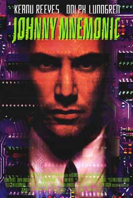 Johnny Mnemonic - 27 x 40 Movie Poster - Style B