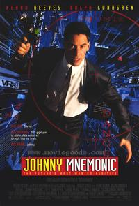 Johnny Mnemonic - 43 x 62 Movie Poster - Bus Shelter Style A