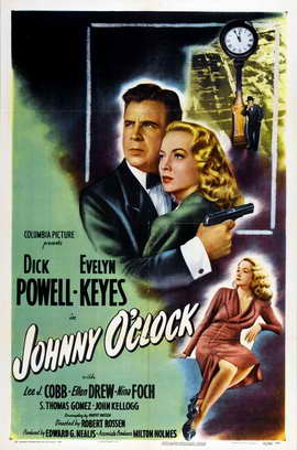 Johnny O Clock - 27 x 40 Movie Poster - Style A