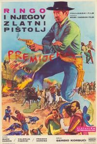 Johnny Oro - 39 x 55 Movie Poster - Italian Style A