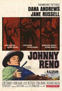 Johnny Reno - 11 x 17 Movie Poster - Style A