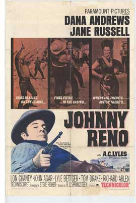 Johnny Reno - 27 x 40 Movie Poster - Style A