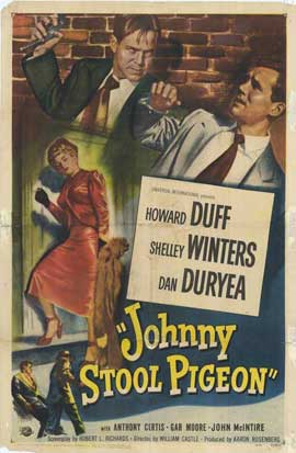 Johnny Stool Pigeon - 11 x 17 Movie Poster - Style A