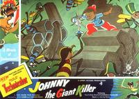 Johnny the Giant Killer - 11 x 14 Movie Poster - Style E