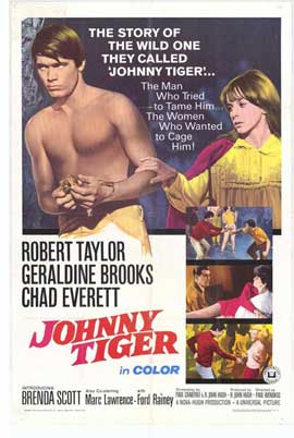 Johnny Tiger - 27 x 40 Movie Poster - Style A