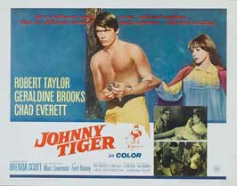 Johnny Tiger - 22 x 28 Movie Poster - Half Sheet Style A